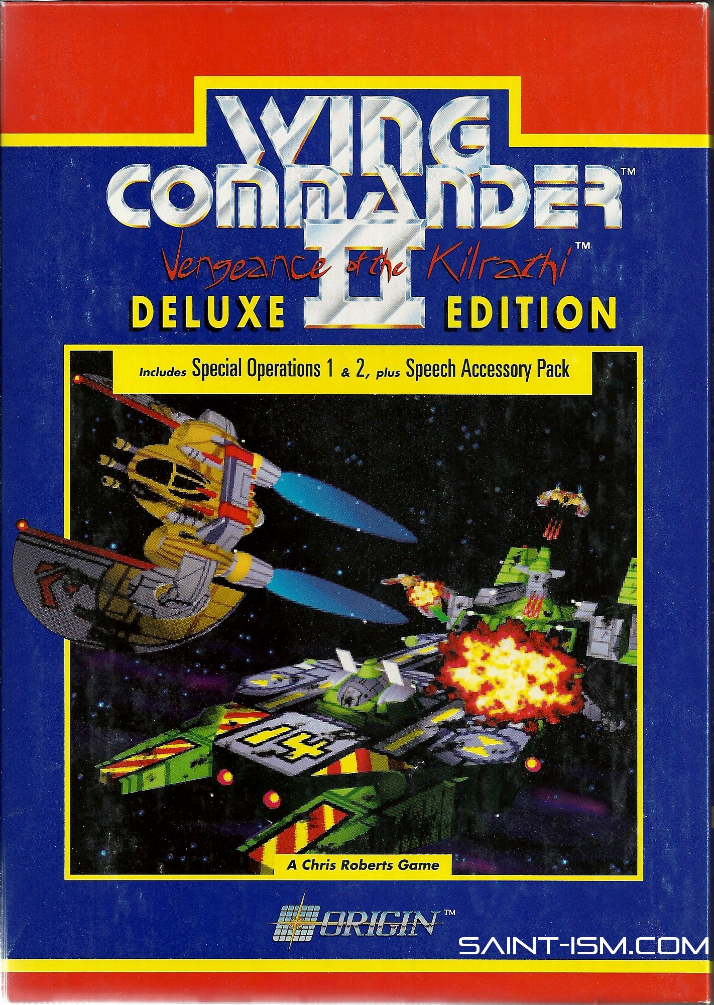 Wing Commander Ii Deluxe Edition Unboxing Saint Ism Gaming