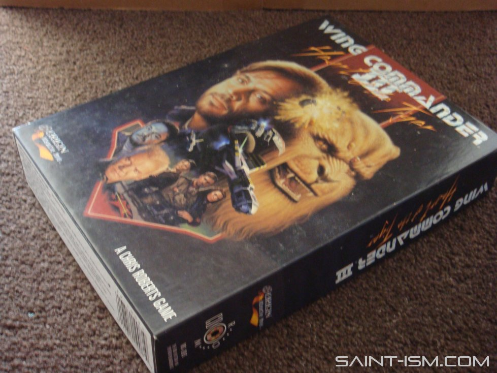 Wing Commander Iii Unboxing Saint Ism Gaming Gunpla Digital Art