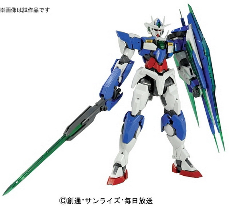 MG 00 Qan[T] Gundam Announced � November 2010 Release | Saint-ism ...