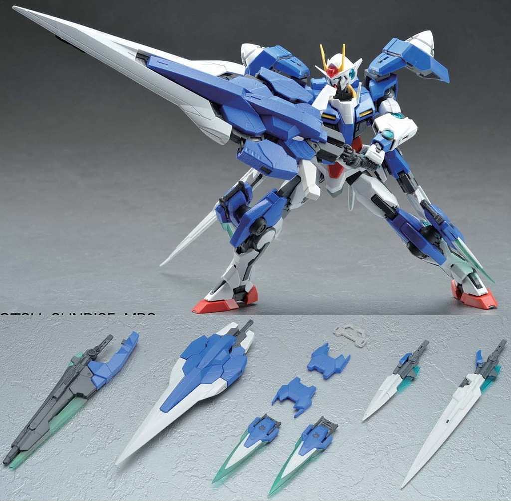 Hobby Mag Scans Of Mg 00 Seven Swords Delta Plus Saint