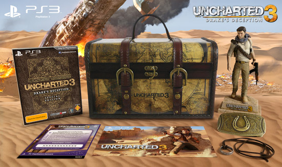 Uncharted 3 Explorer's Edition Unboxing