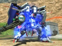 EX-S Gundam Gameplay Footage - EXVS Full Boost PS3