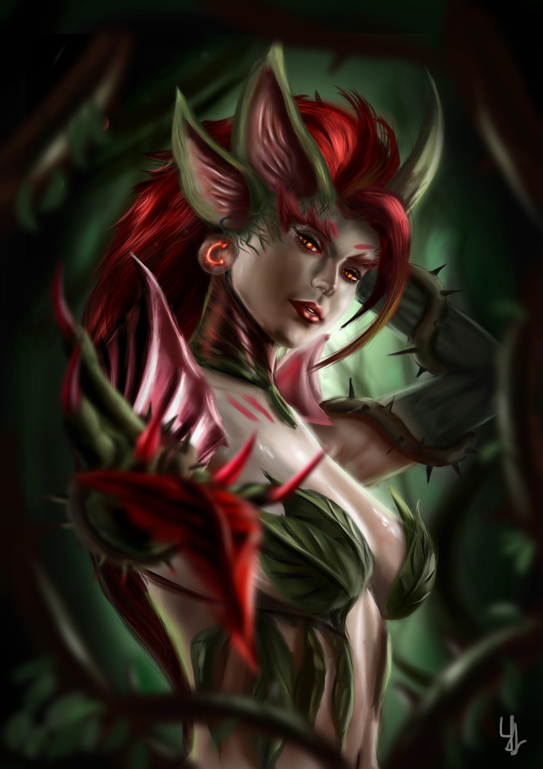 zyra rise of the thorns