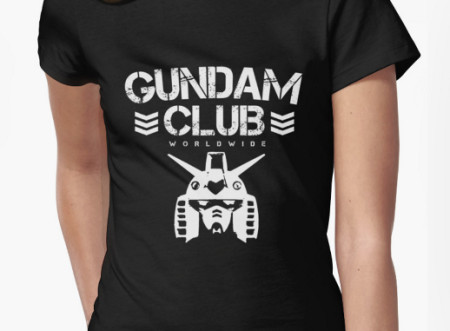 Gundam Club T-shirts now available!