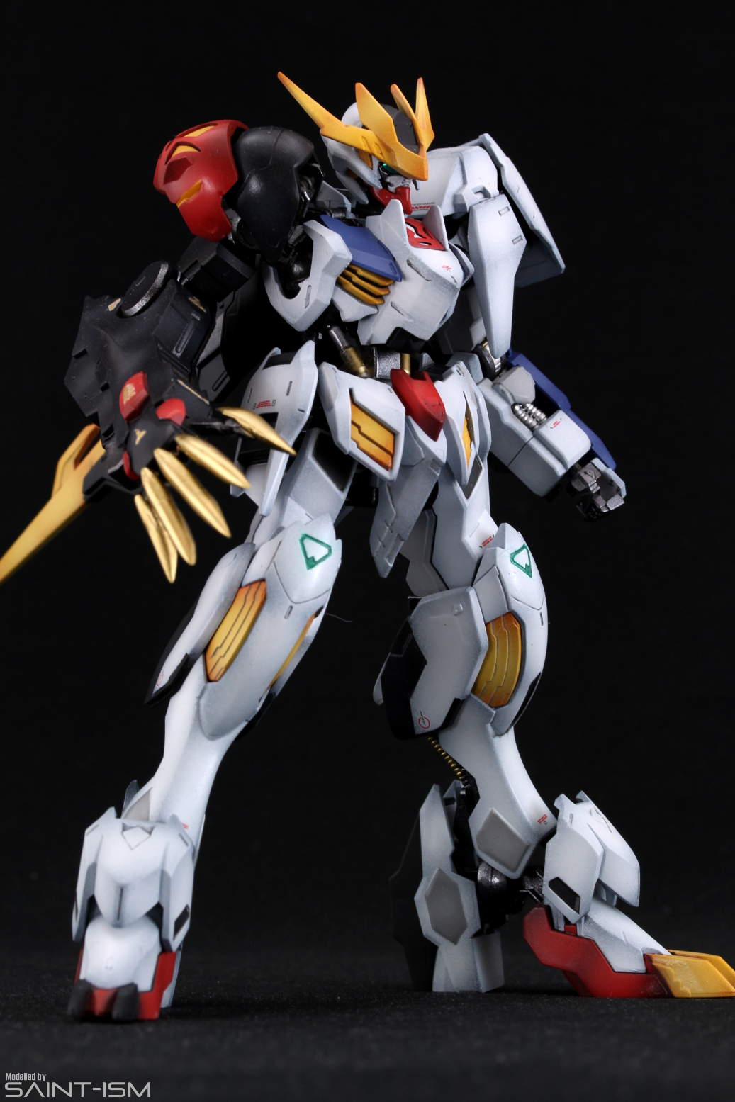 Hg Barbatos Lupus Rex Type 02 Preview Saint Ism Gaming Gunpla Digital Art Gundam barbatos lupus rex appears for the first time in the sd line and includes both sd and cs frames. hg barbatos lupus rex type 02 preview